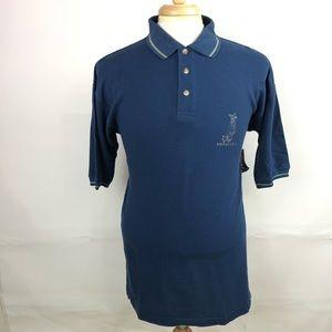 Pinnacle Vintage Mens Short Sleeve Golf Polo Shirt